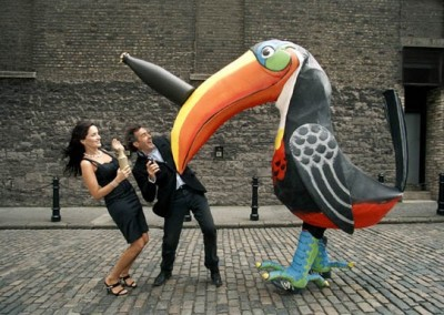 Paul Martin, Andrea Roche with Toucan Proof