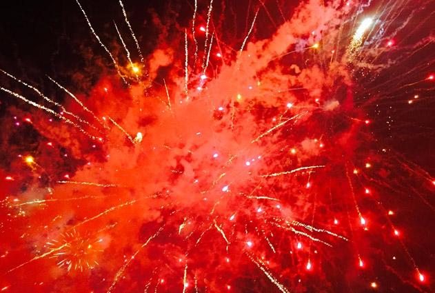 Sligo Fleadh Cheoil na hEireann 2015 Fireworks