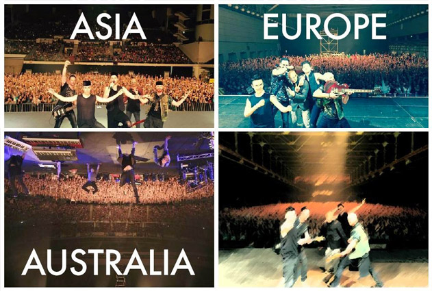 The Script NSWS World Tour 2015