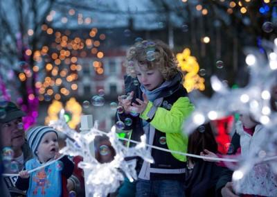 Christmas Installation, Bishop Lucey Park, Cork